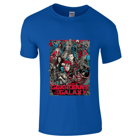 Guardians Of The Galaxy Cover T-Shirt-Hero Gear