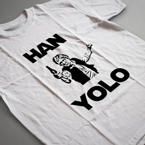 Mens T-Shirts - Han Yolo T Shirt
