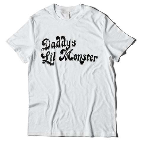 Mens T-Shirts - Harley Quinn Daddy's Lil Monster T-Shirt