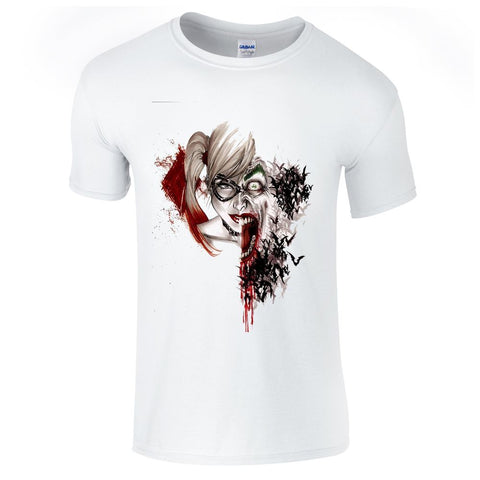 Mens T-Shirts - Harley Quinn Joker T-Shirt