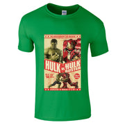 HULK V HulkBuster T-Shirt-Hero Gear