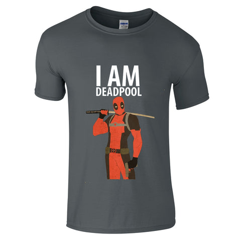 Mens T-Shirts - I Am Deadpool T-Shirt
