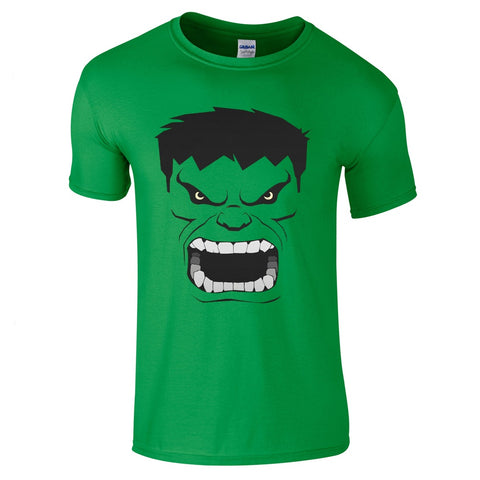 Mens T-Shirts - Incredible Hulk T-Shirt