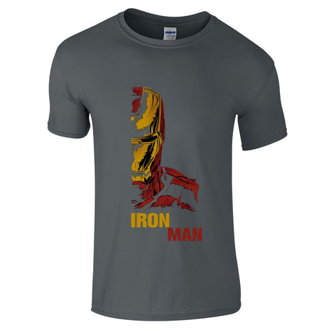 Iron Man Retro 2 T-Shirt-Hero Gear
