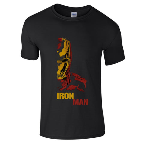Mens T-Shirts - Iron Man Retro 2 T-Shirt