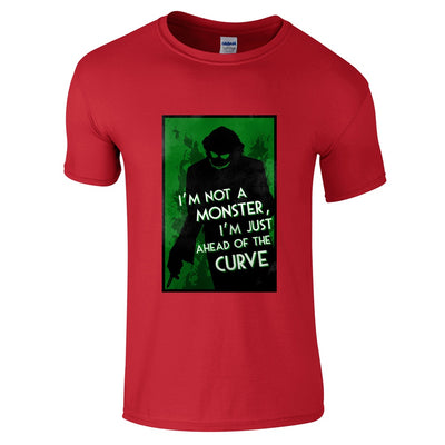 Joker Ahead of the Curve T-Shirt-Hero Gear