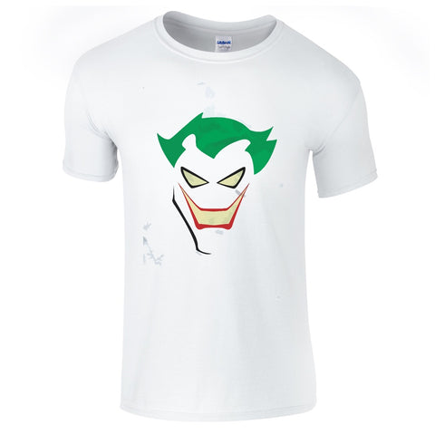 Mens T-Shirts - Joker Face T Shirt