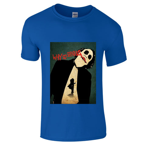 Mens T-Shirts - Joker Why So Serious T-Shirt