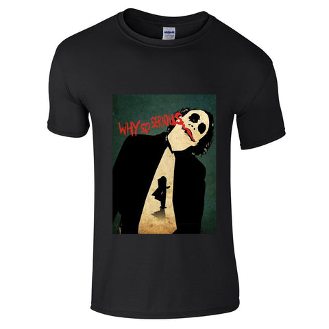Joker Why So Serious T-Shirt-Hero Gear