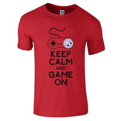 Keep Calm And Game On T-Shirt-Hero Gear
