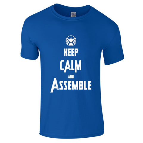 Keep Calm & Assemble T-Shirt-Hero Gear
