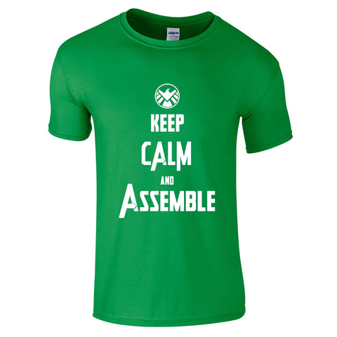 Mens T-Shirts - Keep Calm & Assemble T-Shirt