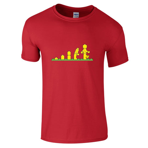 Mens T-Shirts - Lego Evolution T-Shirt