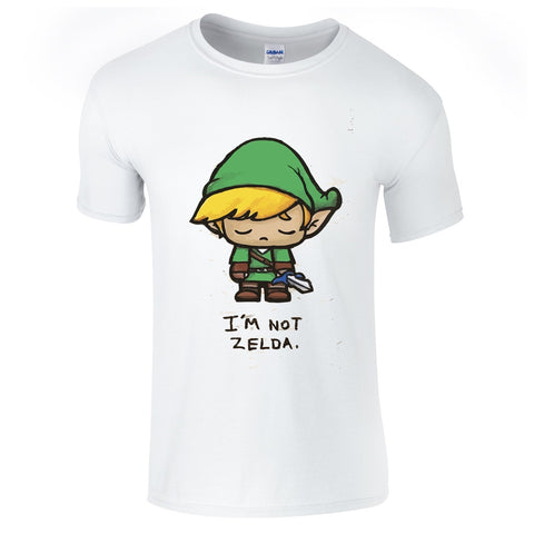 Link I'm Not Zelda T Shirt-Hero Gear