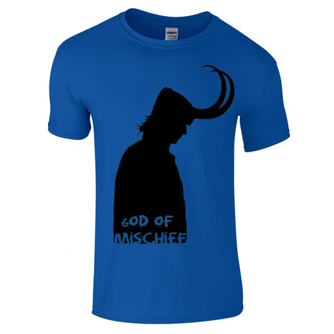 Loki God of Mischief T-Shirt-Hero Gear