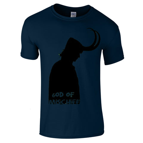Mens T-Shirts - Loki God Of Mischief T-Shirt