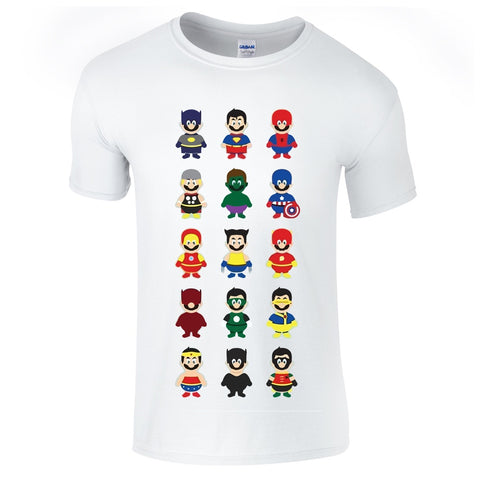 Mens T-Shirts - Mario Superhero T-Shirt