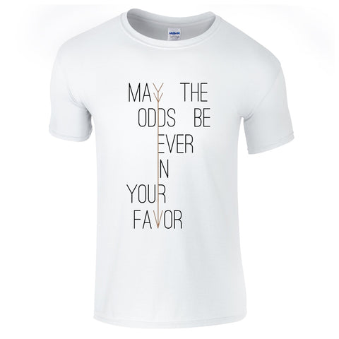Mens T-Shirts - May The Odds T-Shirt