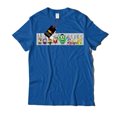 Minion Avengers T-Shirt-Hero Gear