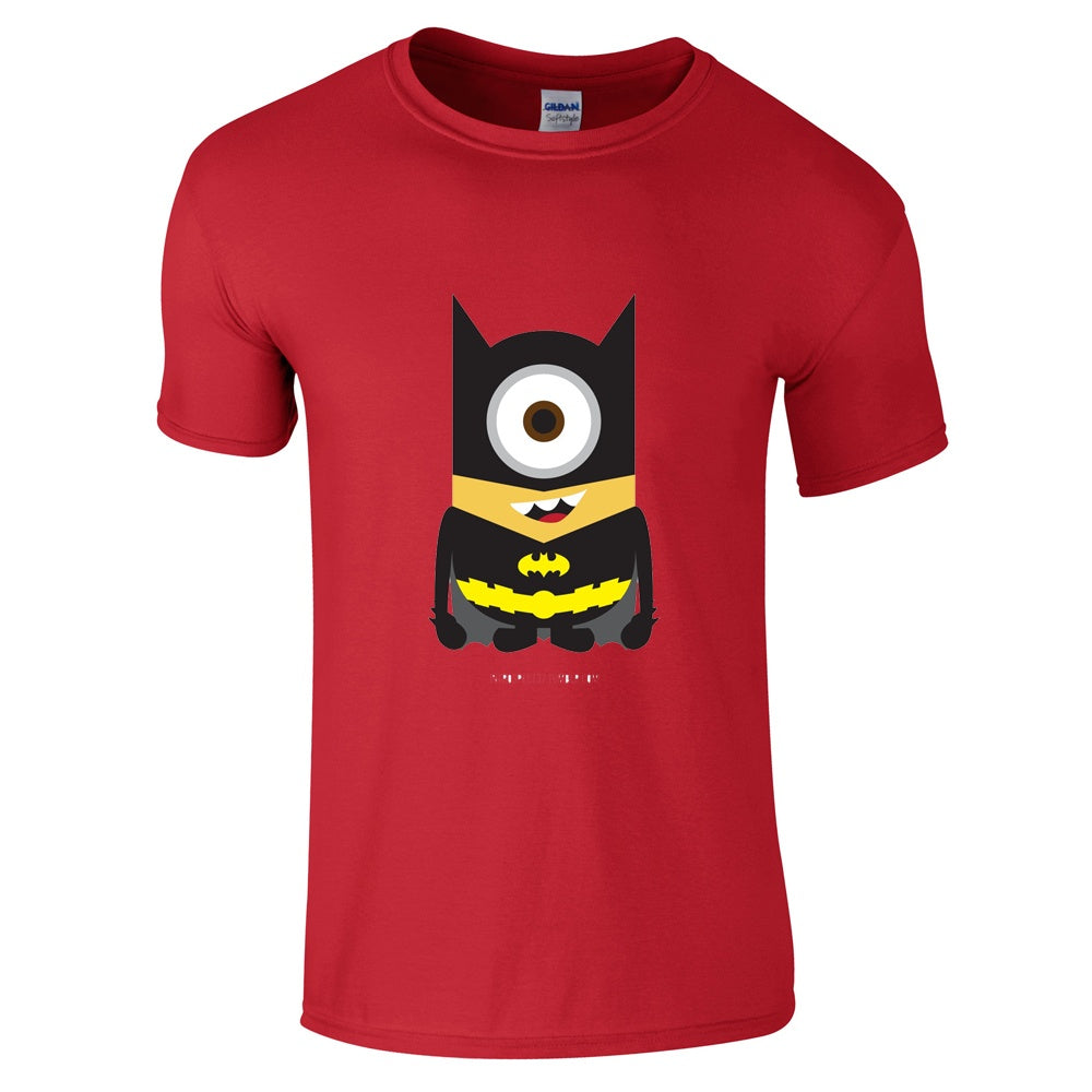 Mens T-Shirts - Minion Batman T-Shirt