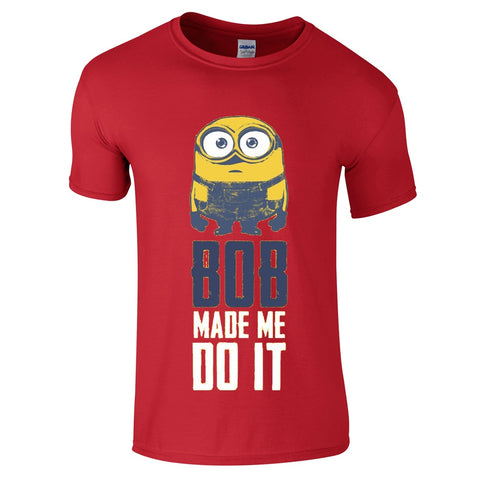 Mens T-Shirts - Minion Bob T-Shirt