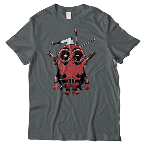 Mens T-Shirts - Minion Deadpool T-Shirt