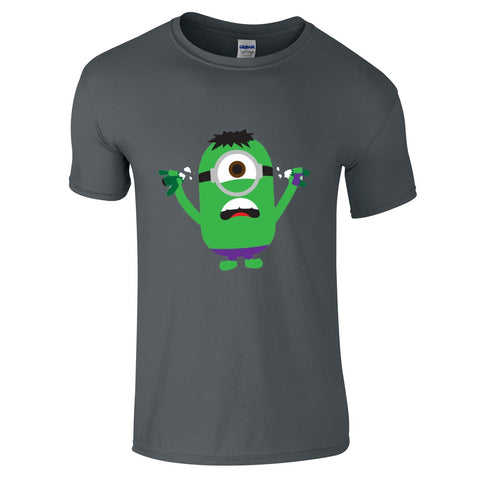 Mens T-Shirts - Minion Hulk T-Shirt