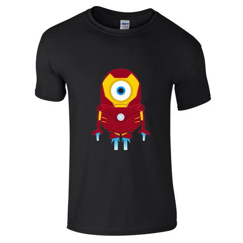 Mens T-Shirts - Minion Ironman T-Shirt