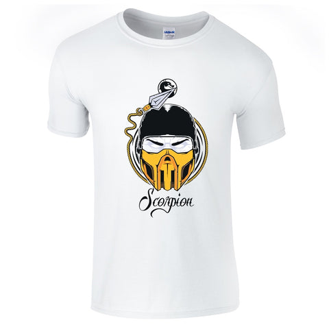 Mens T-Shirts - Mortal Kmobat Scorpion T-Shirt