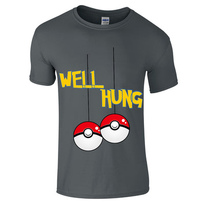 Pokemon Well Hung Christmas T-Shirt-Hero Gear