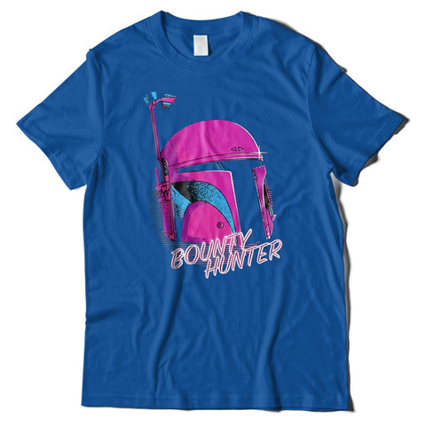 Mens T-Shirts - Retro Boba Fett Bounty Hunter T-Shirt