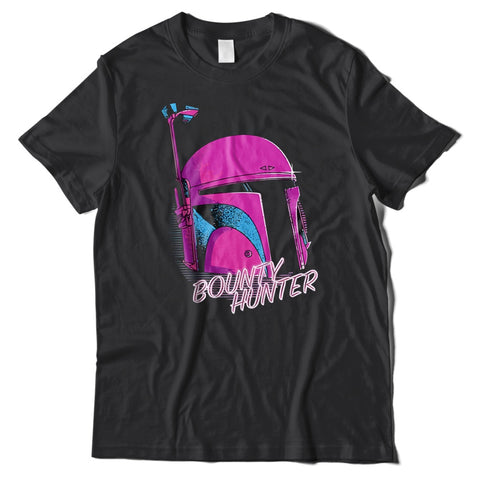 Retro Boba Fett Bounty Hunter T-Shirt-Hero Gear