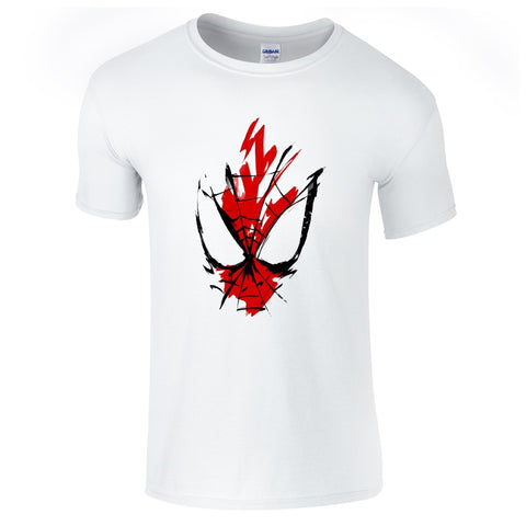Mens T-Shirts - Spiderman Sketch T-Shirt