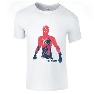 Mens T-Shirts - Spiderman Splash T-Shirt