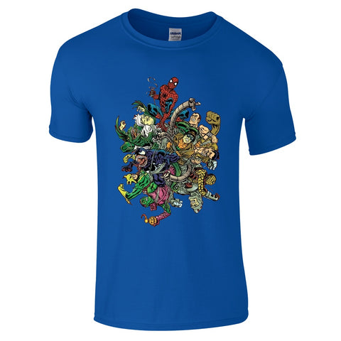 Mens T-Shirts - Spiderman Villians 2 T-Shirt