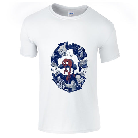 Mens T-Shirts - Spiderman Villians 3 T-Shirt