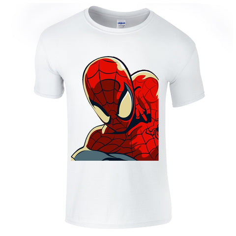 Mens T-Shirts - Spidey Comic Book T-Shirt