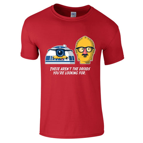Mens T-Shirts - Star Wars These Are Not The Droids You're Looking For T-Shirt
