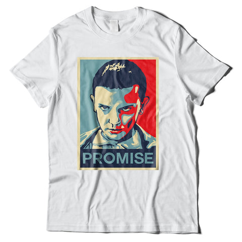 Mens T-Shirts - Stranger Things 11 Promise T-Shirt