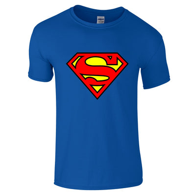 Superman Logo T-Shirt-Hero Gear