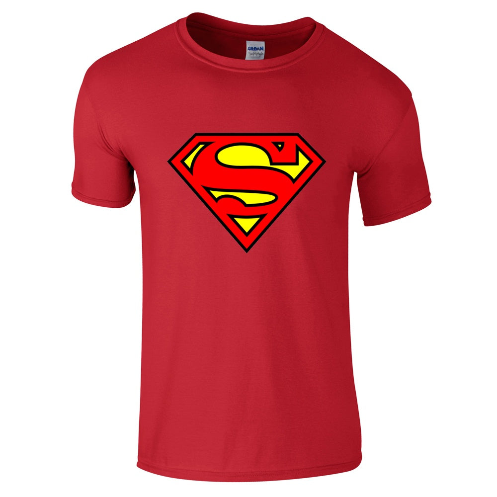 Superman Logo T Shirt Innerhero