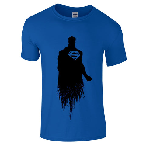 Mens T-Shirts - Superman Sihouette T-Shirt