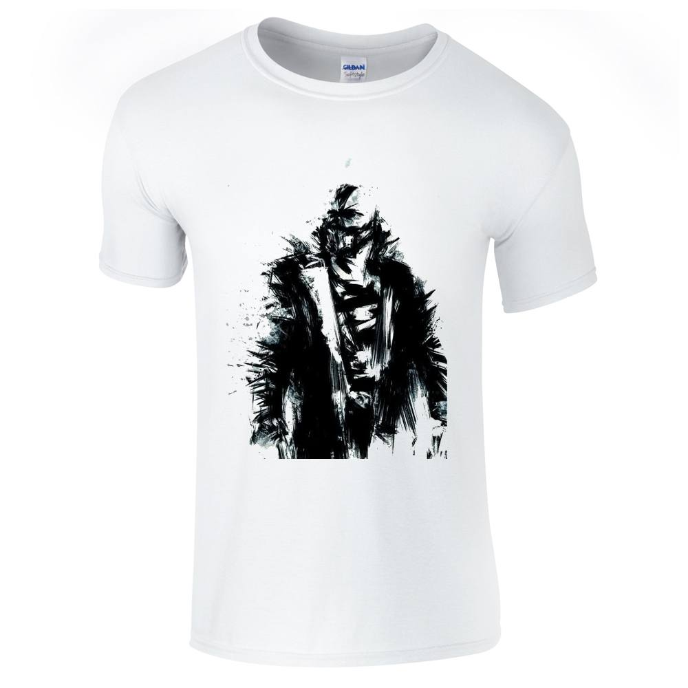 Mens T-Shirts - The Dark Knight Rises Bane Sketch T-Shirt