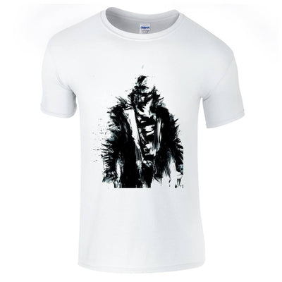 The Dark Knight Rises Bane Sketch T-Shirt-Hero Gear