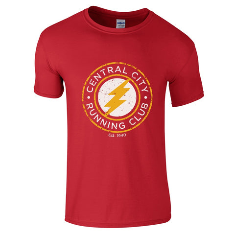 Mens T-Shirts - The Flash Running Club T Shirt