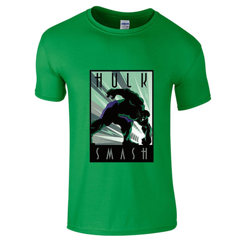 Mens T-Shirts - The Incredible Hulk T-Shirt