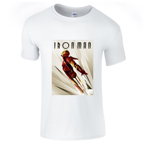 Mens T-Shirts - The Invincible Ironman T-Shirt