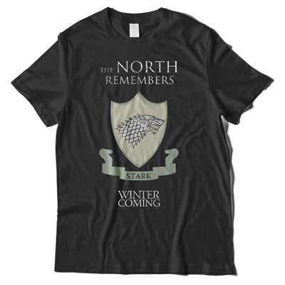 The North Remembers Game Of Thrones T-Shirt-Hero Gear