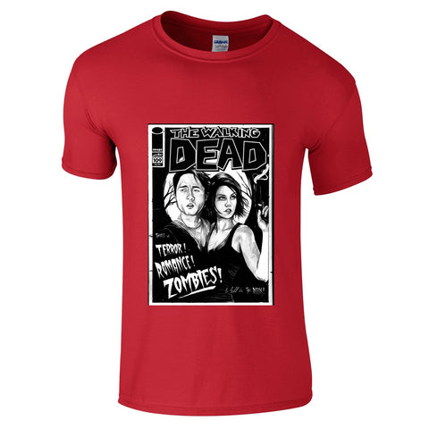 Mens T-Shirts - The Walking Dead Comic T-Shirt