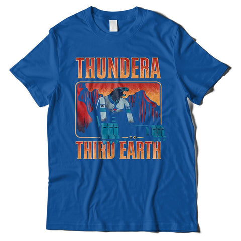 Mens T-Shirts - Thundercats Third Earth T-Shirt